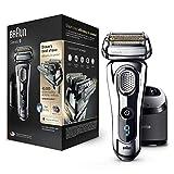 Braun 9297 Series 9  - Afeitadora Eléctrica, Máquina de Afeitar Barba en Seco y Mojado, Recortadora de Precisión...