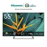 Hisense H55BE7400 - Smart TV ULED 55' 4K Ultra HD, 3 HDMI, 2 USB, salida óptica, Wifi, Bluetooth, Dolby Vision HDR,...
