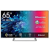 Hisense H65BE7400 Smart TV 65' 4K Ultra HD, 3 HDMI, 2 USB, Salida Óptica, WiFi, Bluetooth, Dolby Vision HDR, Wide Color...