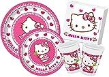 Ciao y4306–Kit Día de tabla Hello Kitty Hearts, Rosa/Blanco