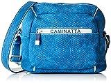 ctta caminatta Arena, Bolso bandolera para Mujer, Azul (Tejano), 9x20x24 cm (W x H x L)