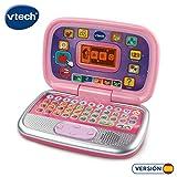 VTech Diverpink PC - Ordenador infantil educativo para aprender en casa, nseña diferentes materias a través de sus...