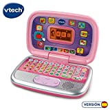 VTech Diverpink PC - Ordenador Infantil Educativo que Enseña Diferentes Materias a Través de sus Voces, Frases y...