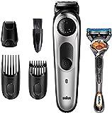 Braun Recortadora de Barba BT5265, Máquina Cortar Pelo, Recortadora de Barba y Cortapelos, para Hombre, 39 Ajustes de...