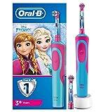 Oral-B Stages Power Kids - Cepillo Eléctrico Recargable para Niños con Personajes de Frozen de Disney, 1 Mango,...