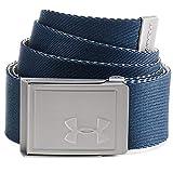 Under Armour UA Men's Webbing 2.0 Belt, cinturón para hombre, accesorio para hombre hombre, azul (Academy/City...