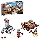 LEGO Star Wars - Microfighters: Saltacielos T-16 vs. Bantha, Juguete de La Guerra de las Galaxias una Esperanza, Incluye...