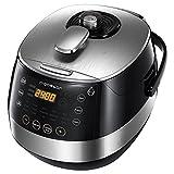 Aigostar Happy Chef 30IWY – Robot de cocina multifunción, cocina a presión: 7 aparatos en uno, 15 funciones, panel...