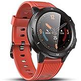 Vigorun Smartwatch Reloj Inteligente Hombre Mujer, Pantalla Táctil Completa Relojes Deportivos, Monitor Ritmo Cardíaco...