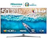 Hisense H50U7B - Smart TV ULED 50' 4K Ultra HD con Alexa Integrada, Bluetooth, Dolby Vision HDR, HDR 10+, Audio Dolby...