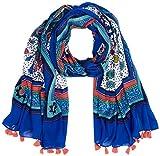 Springfield 85639, Bufanda para Mujer, Azul (Gamma Azules), X-Small (Tamaño del fabricante:XS)