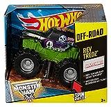 Mattel Hot Wheels CHV36 vehículo de Juguete - Vehículos de Juguete (Multicolor, Camión, Monster Jam, Rev Tredz Grave...
